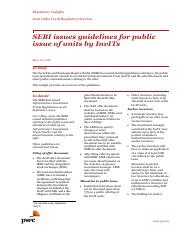 pwc_news_alert_16_may_2016_sebi_issues_guidelines_for_public_issue_of_units_by_invits