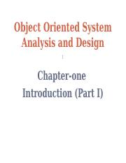Object Oriented SAD-1-Part I.ppt
