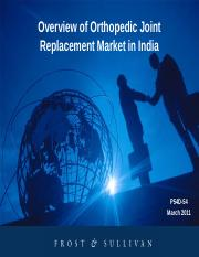 318405998-Overview-of-Orthopedic-Joint-Replacement-Market-in-India-pdf