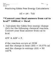 Gibbs Free Energy Worksheet Practice Calculations.doc enlarged.doc