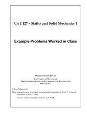 In-class problems-W13