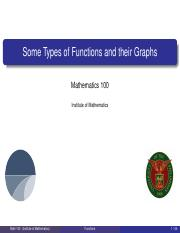 02 - Graphs of Functions