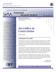 Juveniles and Corrections