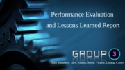 MBA 500.Example.Week 8 Group Performance Evaluation.Lessons Learned Assignment
