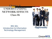 Class 6 - Network Effects and Microsoft