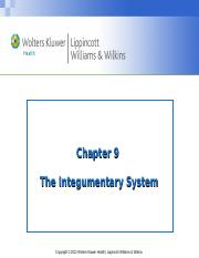 Chapter_09 the Integumentrary System-.ppt