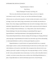 psych 101 final paper