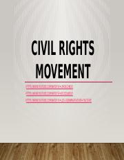 CIVIL RIGHTS MOVEMENT (Friday).pptx