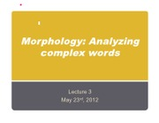 Lecture_3_Morphology
