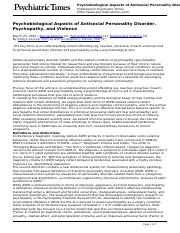 Psychiatric_Times_-_Psychobiological_Aspects_of_Antisocial_Personality_Disorder_Psychopathy_and_Viol