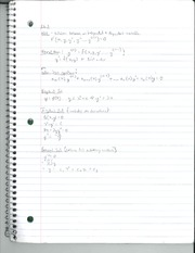 Differential Equations Class Notes  Chapter 1