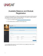 AvailableBalance_and_Module_Registration