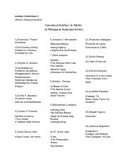 Canonical Authors &