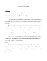 Annotated Bibliography_KimberlyBillings