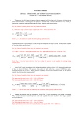 SAWorksheet05Solution