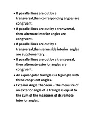 Geometry-Parallel Lines