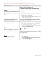 Ms. Lane Cover Letter Strategy Worksheet