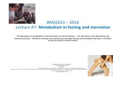Lecture A7- Metabolism in fasting and starvation (1).pdf