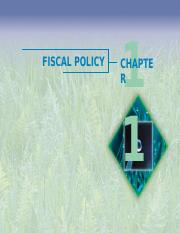Ch11 Fisacl Policy.ppt