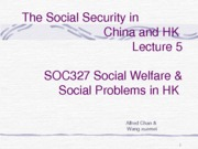 SOC327 L5 Social Security