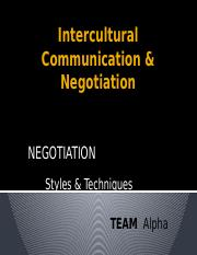 Intercultural Communication & Negotiation.pptm