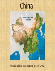 China Digital Geography Map.pptx