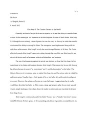 Satirical Analysis Essay Rough Draft