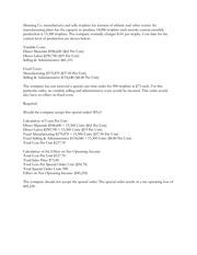 ACC 505 Quiz 2 Essay 5 - Manning Company