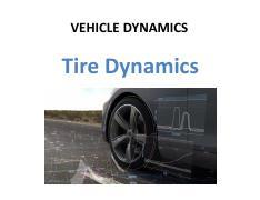 Vehicle Planar Dynamics pdf - VEHICLEDYNAMICS