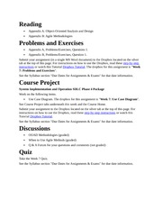 MGMT340 - W7 - Assignments