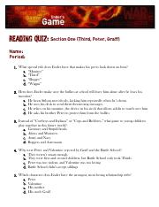 Quotes Quiz Cool Quotes Quiz  Julius Caesar Multiple Choice Unit Test 2 Page 5 Iii