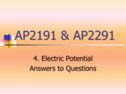4.Electric Potential_answers