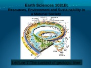Lecture 7 - Geologic Time