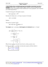 week 1 practice problem solutions ee518 Winter 2014-correction