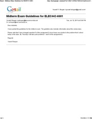 July 12 - Midterm Exam Guidelines for ELEC442-6601