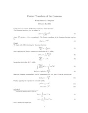 fourier_transform_Gaussian