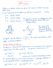 Notes CH 07 - Alkynes