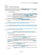 A1 Psychologys Timeline and Perspectives 11th Sum17.docx