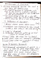 CJC 424 Class Notes- Miscarriages of Justice