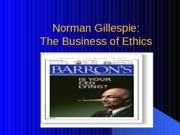 Gillespie%20Business%20of%20Ethics