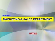 Chapter 5. Sales & Marketing - BB