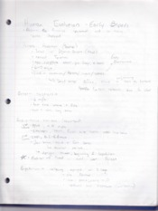 Class 4 Notes- human evolution, early bipeds