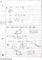 Sine, Cosines and Tangent Functions Lecture Notes 1