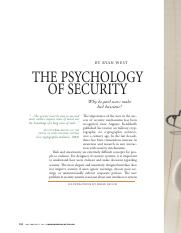 Psychology of Security - West.pdf
