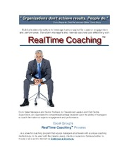 real time coaching