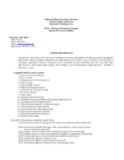 IT150 Syllabus-Electronic-Mechanical Systems-S-2013