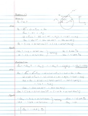 Dynamics Midterm #2 - Solution