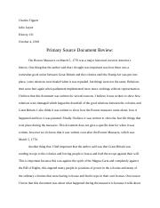 Primary source document review.docx
