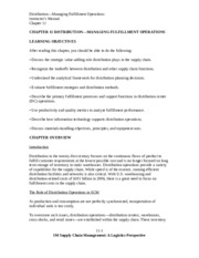 SolutionManual_SupplyChainMgmt_ALogisticsPerspective_9Ed_by_Coyle_Langley_Chapter11