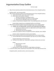 Arguementative essays